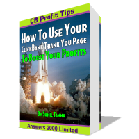 ClickBank Profit Tips: How To Use Your ClickBank Thank You Page To Boost Your Profits